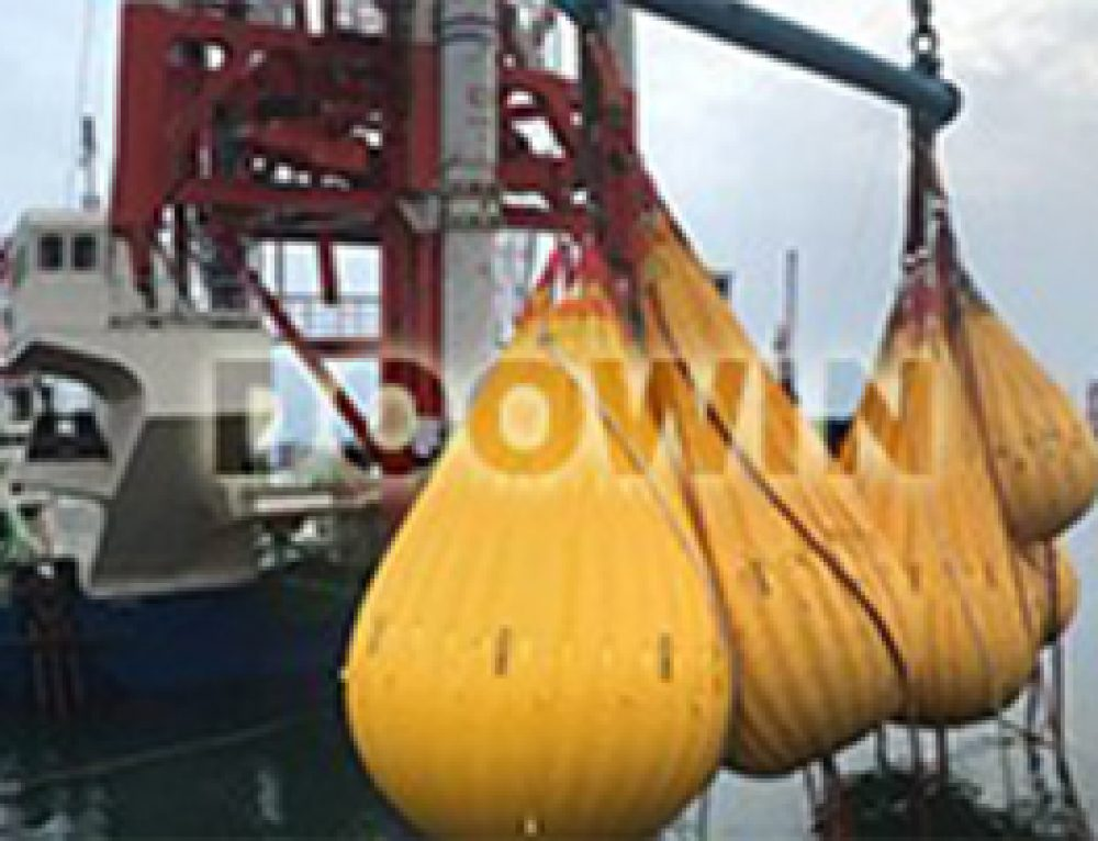 Water Load Bags for 320T Crane Proof Load Testing