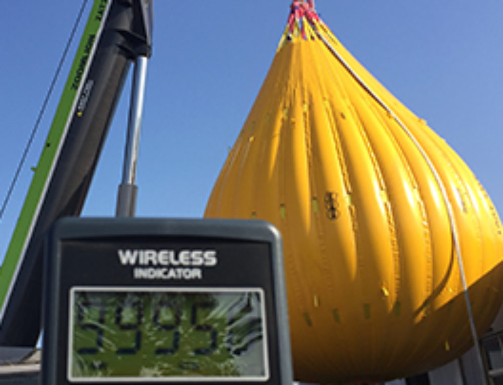 The World's Largest Water Filled Proof Load Bags