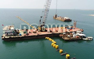 Mono Buoyancy Units Assist Pipeline Installation